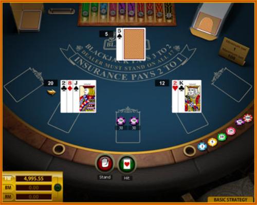 """""""Online blackjack"""""""